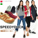 SPEEDY DUCK/スピーディダック 7503バックスキン調 モックシューズタイプ カジュアルスニーカー