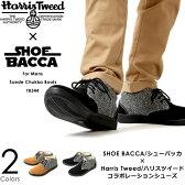 SHOE BACCA/シューバッカ × Harris Tweed/ハリスツイード チャッカブーツ