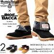 SHOE BACCA/シューバッカ × Harris Tweed/ハリスツイード 折り返し 2WAY ワークブーツ