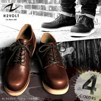 H2VOLT / 5hole Oxford / VO-200 / men's leather boots / men's leather oxford shoes