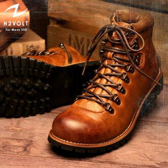 H2VOLT  Vintage Style Side Zip Mountain / VO-500 / men's boots