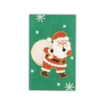 クリスマスポチ袋【サンタグリーン】 ホールマーク XME-729-820