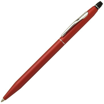 ボールペン 名入れ クロス ボールペン クリック ニューフィニッシュ S/AT0622-119 レッド CROSS 名前入り 1本から 名前入りボールペン 名入れボールペン プレゼント 男性 女性 高級ボールペン【OKM3】
