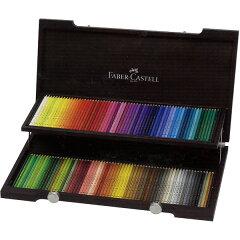 ファーバーカステル 色鉛筆 ポリクロモス色鉛筆 110013 120色(木箱入)【送料無料】「…