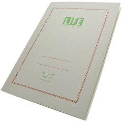 【A5ノート】【ライフ/LIFE】【文房具ならペンハウス】ライフ A5サイズ ピスタチオ N75 5mm...
