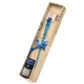 ルビナート ガラスペン ガラスペン+9ccインクセット NOV/E+INK ターコイズ 【ペンハウス楽天市場店】 (3400)