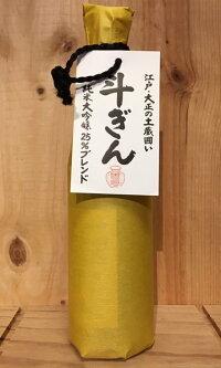 【中谷酒造】斗ぎん純米吟醸720ml【奈良県】