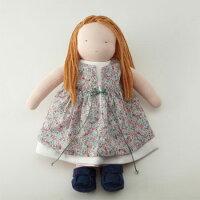 着せ替え人形キット/中女の子くつ付/ウォルドルフ人形