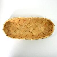 北欧フィンランドの白樺のカゴバスケット長方形・大/カイヤ・カッリ