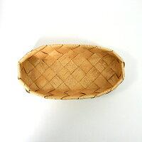 北欧フィンランドの白樺のカゴバスケット長方形・小/カイヤ・カッリ