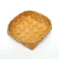 北欧フィンランドの白樺のカゴ正方形・中/カイヤ・カッリ