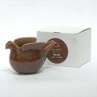 duva鳩のポットブラウン/波佐見焼西山陶器/LisaLarson(リサ・ラーソン)