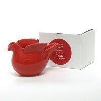 duva鳩のポットレッド/波佐見焼西山陶器/LisaLarson(リサ・ラーソン)