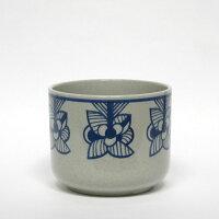 florabluestripeflower/鉢カバー/波佐見焼西山陶器/LisaLarson(リサ・ラーソン)