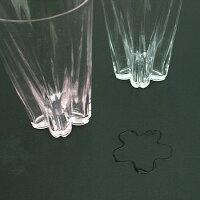 SAKURASAKUglass(サクラサクグラス)/Tumbler紅白/100%(ヒャクパーセント)