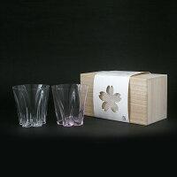 SAKURASAKUglass(サクラサクグラス)/ROCK紅白/100%(ヒャクパーセント)