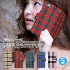 iPhone 6s 6 iPhone6s iPhone6 xperia Z4 Z5 xperiaz4 xperiaz5 so-03g so03g sov31 402so so-01h so01h sov32 403so digno C dignoc 404kc らくらくスマートフォン3 f06f f-06f ケース カバー タータン柄 手帳型 iphoneケース 手帳型ケース スマホケース FJ6261