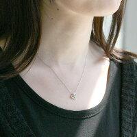 K10ホワイトゴールド合計0.04ctダイヤモンド×ペリドットペンダントネックレス(ハート/3way/8月誕生石)[DPN0625208001]