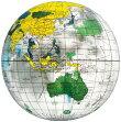 地球儀ボール(クリア)