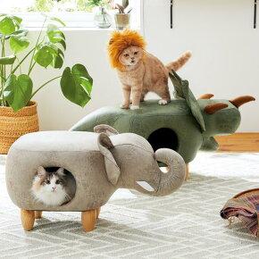 <myアニモ>猫ベッドアニマルかわいい写真映えインテリアPEPPYペピイ