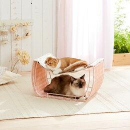 ゆらゆらハンモック【キャットタワーハウスベッドラタン猫猫用ペット】PEPPY(ペピイ)