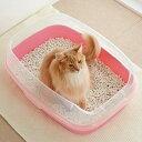 セール マーカーハーフカバートイレ 猫 トイレカバー はみ出し防止 抗菌 PEPPY ペピイ その1
