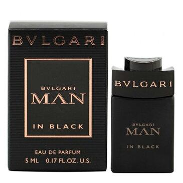 郵便送料無料 ブルガリ マン イン ブラック オードパルファム EDP 5ml ミニ香水[6155][TN100] ミニチュア BVLGARI