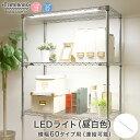 【送料無料】[共通] ルミナス LEDライト 昼白色 スチールラック 幅60 パーツ 幅48×奥行3×高さ1.5cm LED60R-N