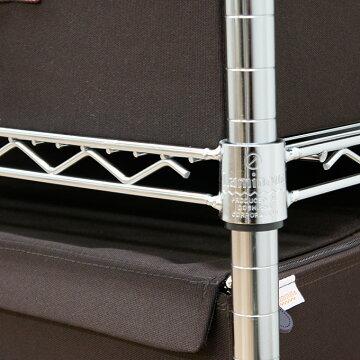 【ポイント5倍】メタルラックランキング常連★ルミナスluminous収納家具ハンガーラックハンガーポールパイプハンガー25mm/ワードローブ幅90(幅91.5×奥46×高178.5cm)NLH9018-305P06May15