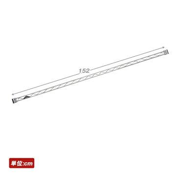 メタルラックランキング常連★ルミナスラックスチールラックスチールシェルフメタルシェルフ★★ルミナス25mm/幅150ワイヤーバー(幅150cm)[スリーブ付]WBL-150SL