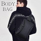 Perfectbagボディバッグ撥水キャンバス盗難防止デザインメンズ斜め掛け縦型ワンショルダーバッグウエストバッグiPadmini収納メッセンジャーバッグ自転車鞄かばん