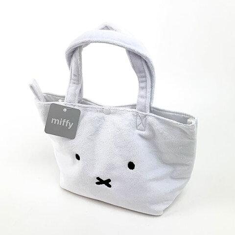 ミッフィー もこもこ2wayバッグmiffy WH 保冷バッグ ランチバッグ ホワイト グッズ