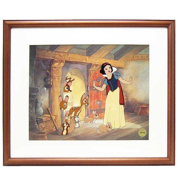 ディズニー プリンセス セル画 白雪姫 「House Warming」 ハンドペイント 世界限定数 500 取寄品 2週間前後:PERFECT WORLD