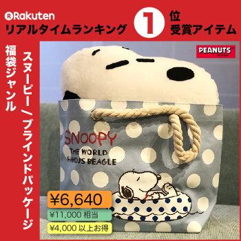 福袋PEANUTSスヌーピーブラインドパッケージロープトート福袋約9000円相当M