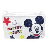 ミッキーマウス キャンバスストレージ 収納ボックス 収納ケース L ディズニー インテリア用品(MCD)