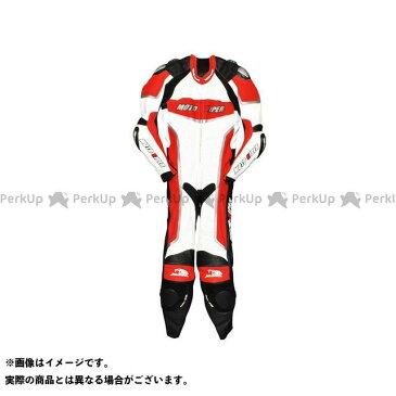 モトバイパー レーシングスーツ 2016-2017秋冬モデル MV-111 レーシングスーツ レッド×ホワイト LL moto-VIPER
