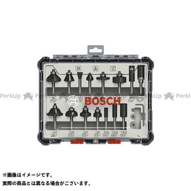 ボッシュ BOSCH ハンドツール 2607017471 ルーター・トリマービットミックス15P