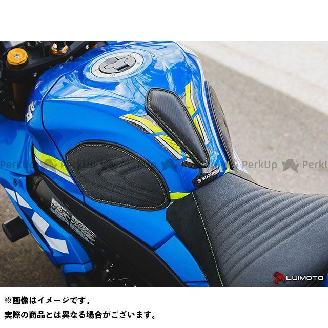 GSX-R1000 タンク関連パーツ タンクリーフ/Sport フルキット TEC-GRIP/CFブラック/ブルーステッチ