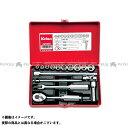 Ko-ken ハンドツール 2250A 1/4(6.35mm)SQ. ソケットセット 16ヶ組 コーケン 1