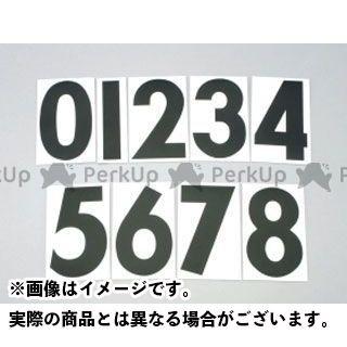 KITACO ステッカー ゼッケンステッカー 黒 大(フロントゼッケン用) 番号5 キタコ