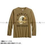 【無料雑誌付き】HARLEY-DAVIDSON カジュアルウェア TシャツL/S/American OriginalEagle SlimFit Tee サイズ:M ハーレーダビッドソン