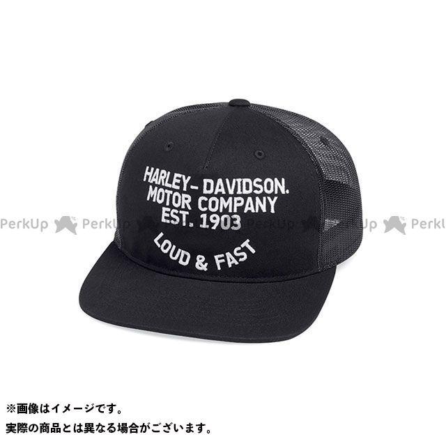 メンズウェア, 帽子 HARLEY-DAVIDSON Loud Fast FlatBrim TruckerCap Free