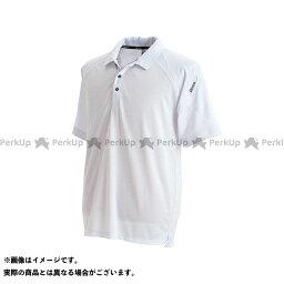 【無料雑誌付き】TS DESIGN カジュアルウェア 半袖ポロシャツ(ホワイト) サイズ:5L TSデザイン