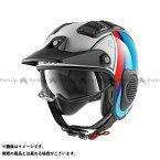 【エントリーで最大P21倍】SHARK HELMETS ジェットヘルメット X-Drak Terrence Helmet White Blue Red サイズ:L シャークヘルメット