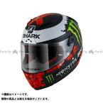 【エントリーで最大P21倍】SHARK HELMETS フルフェイスヘルメット Race-R Pro Replica Lorenzo Monster Mat 2018 Helmet Black Red Green サイズ:XS シャークヘルメット