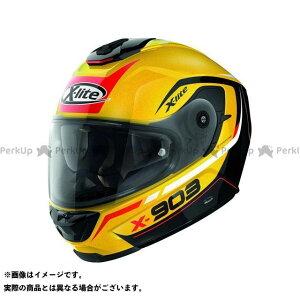 エックスライト フルフェイスヘルメット X-903 Cavalcade N-Com Helmet(レッド-イエロー-ブラック)X93000367020 サイズ:L X-lite