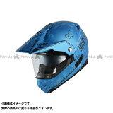 WINS オフロードヘルメット X-ROAD COMBAT(D10サマルカンドブルー) サイズ:L ウインズヘルメット
