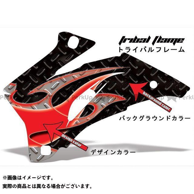 AMR Racing ニンジャZX-6R ドレスアップ・カバー 専用グラフィック コンプリートキット トライバルフレーム ブラック グレー AMR