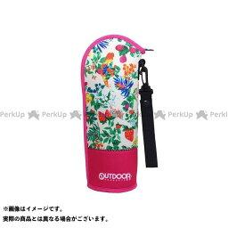 【無料雑誌付き】OUTDOOR PRODUCTS 水筒・ボトル・ポリタンク ソフトボトルケース(ボタニカルピンク) アウトドアプロダクツ