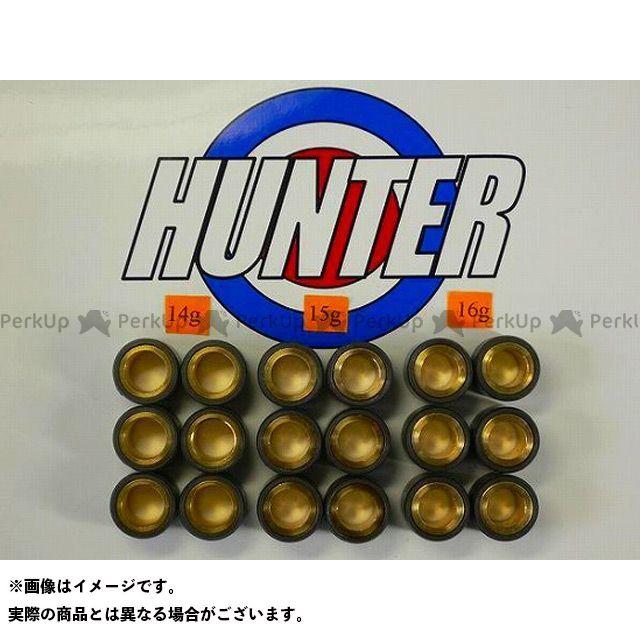 【無料雑誌付き】Hunter アドレスV125 プーリー関連パーツ スズキ用オリジナルウエイトローラーセット20φ×15mm ハンター画像